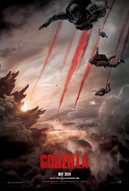 Godzilla Teaser Poster
