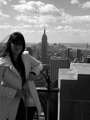 viaje a usa: nueva york, empire state desde el top of the rock