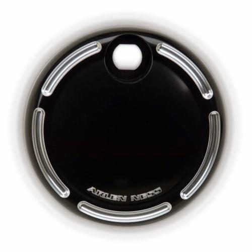Arlen Ness Slot Track Fuel Door Black For Harley-Davidson FLHT FLHX FLTR 08-14