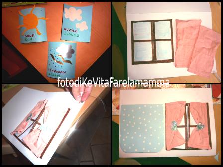 Che tempo fa affacciati alla finestra amore mio libro e lavoretto kevitafarelamamma - Libro la luce alla finestra ...