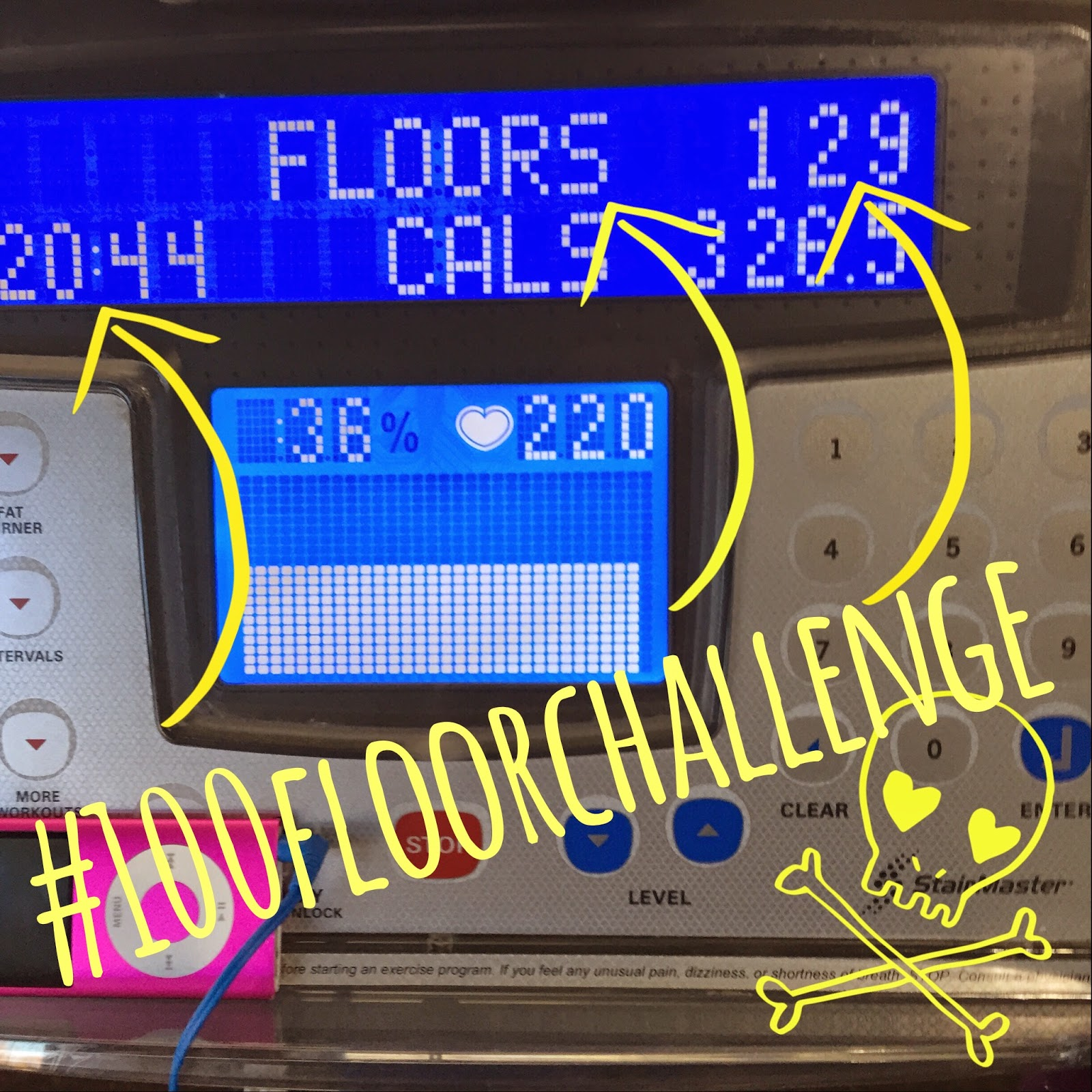 Fit Happens 100 Floor Challenge