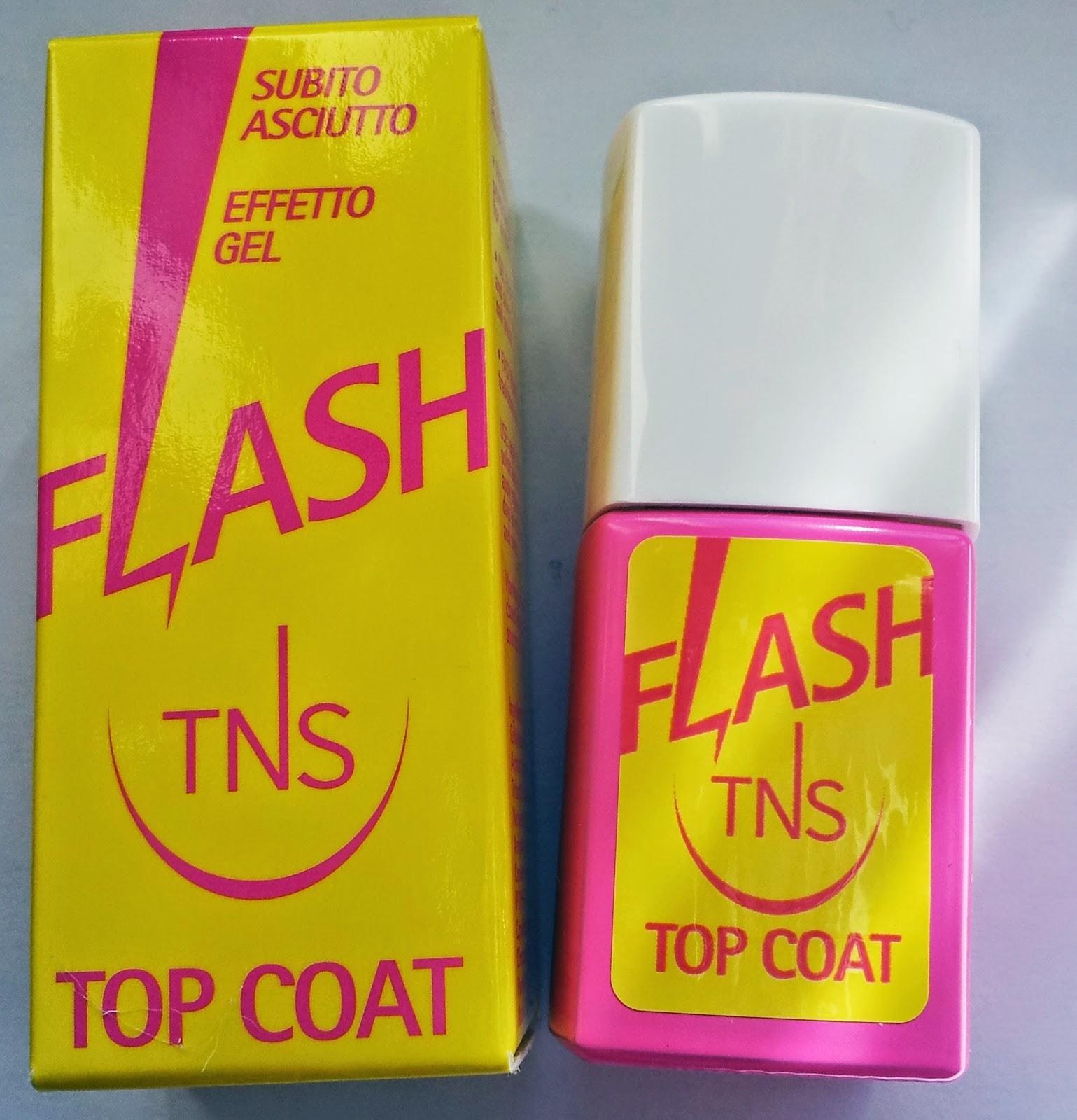 top coat flash tns cosmetics 01