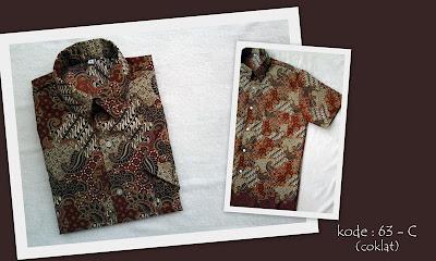 Baju Batik Pria 63C