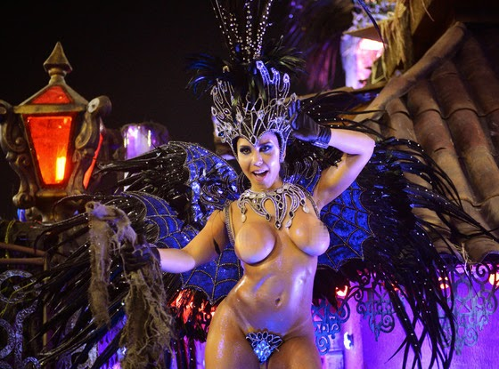 Carnival naked in sexy girls rio