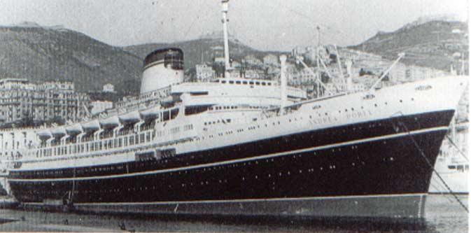 Il 25 Luglio 1956 L Andrea Doria Viaggiava In Uno