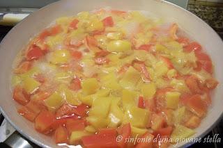 ricette pasta light con peperoni salsiccia e salsina rosa speciale