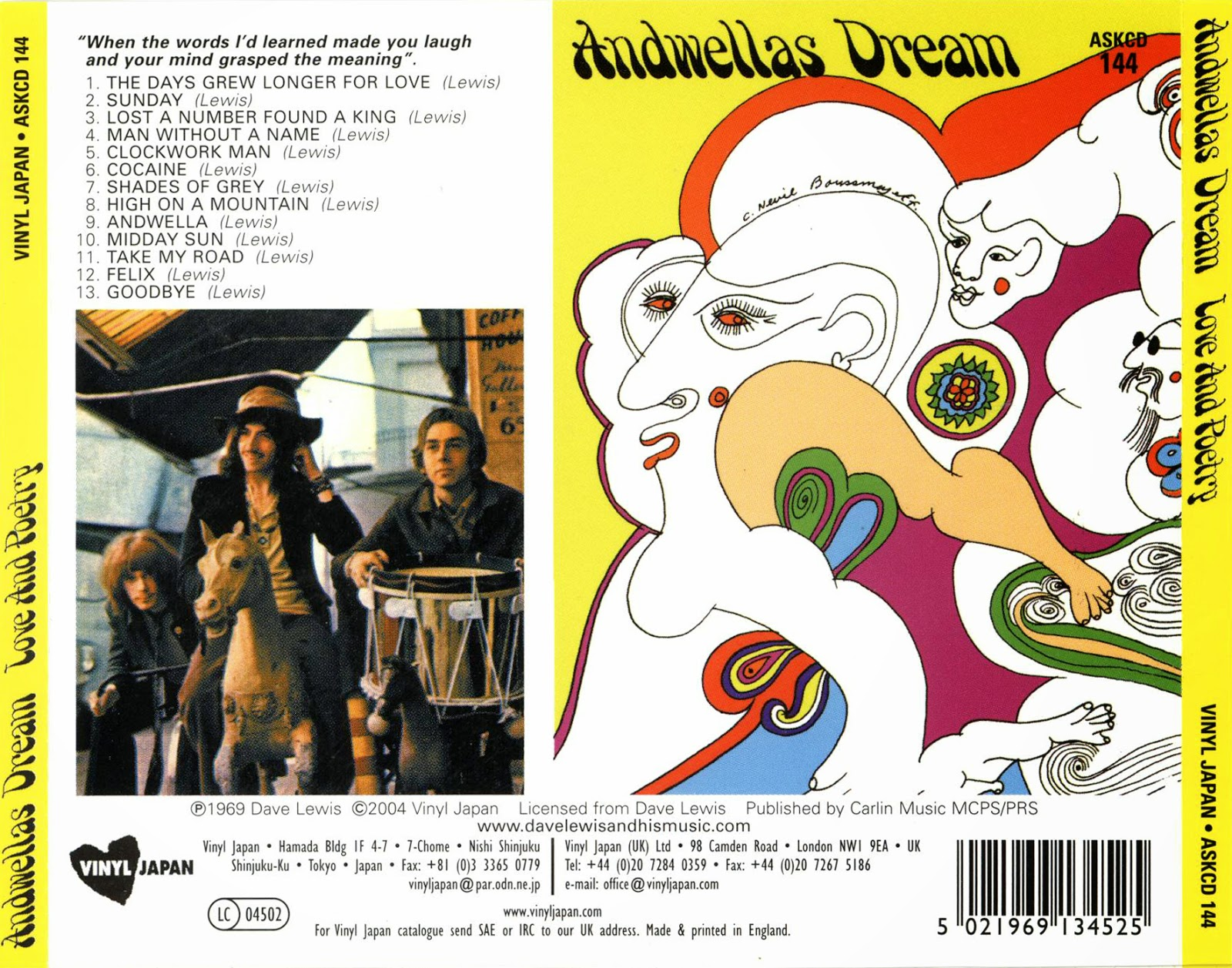 Andwella's Dream Love And Poetry