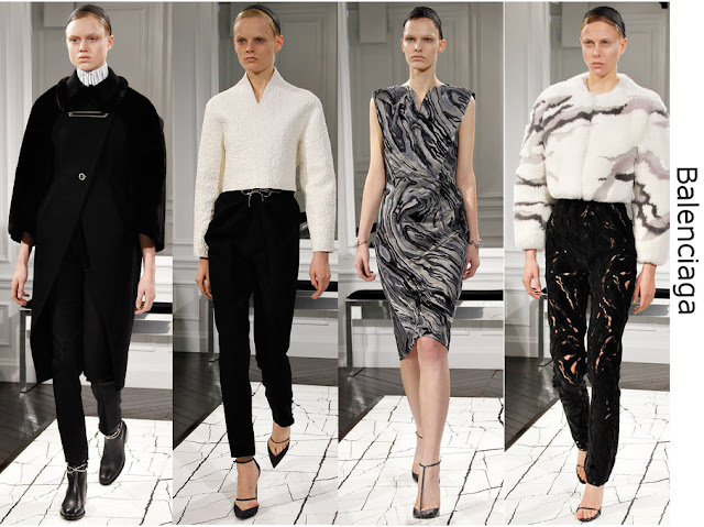 Balenciaga Fall 2013 Runway Collection