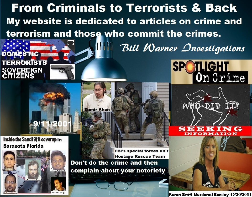 My website dedicated to articles on crime & terrorism and the perps who commit crimes