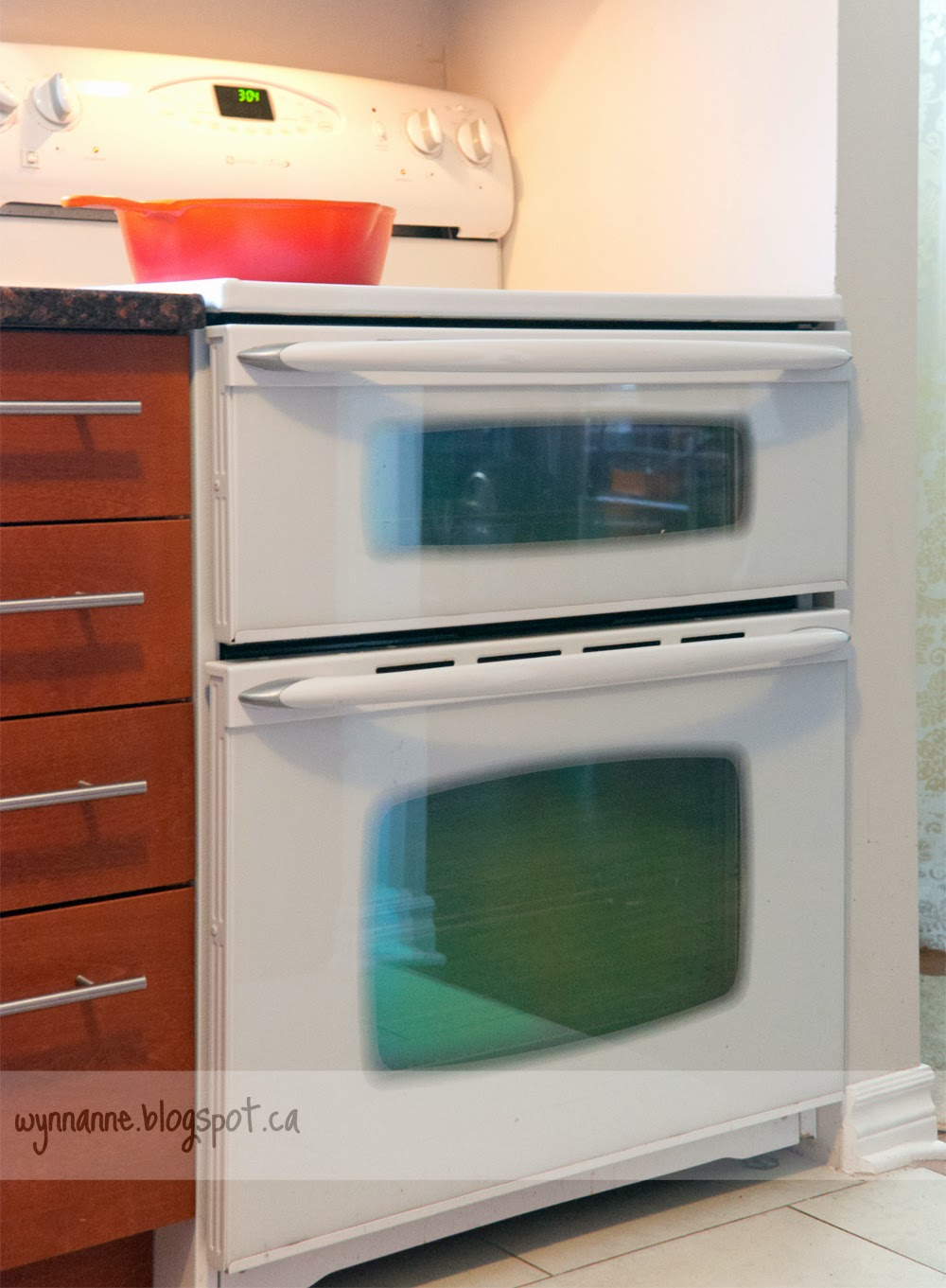 Maytag double oven - Wynn Anne's Meanderings