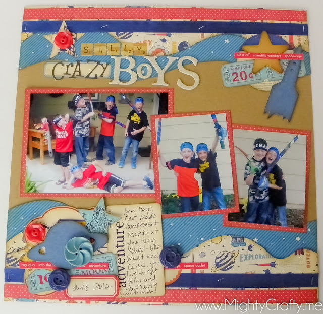 Silly, Crazy Boys by MightyCrafty.me