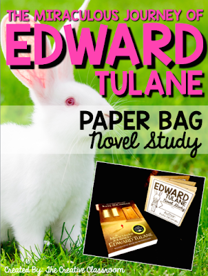 The Miraculous Journey of Edward Tulane Paper Bag Novel Study