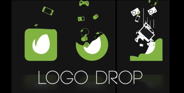 VideoHive Logo Drop