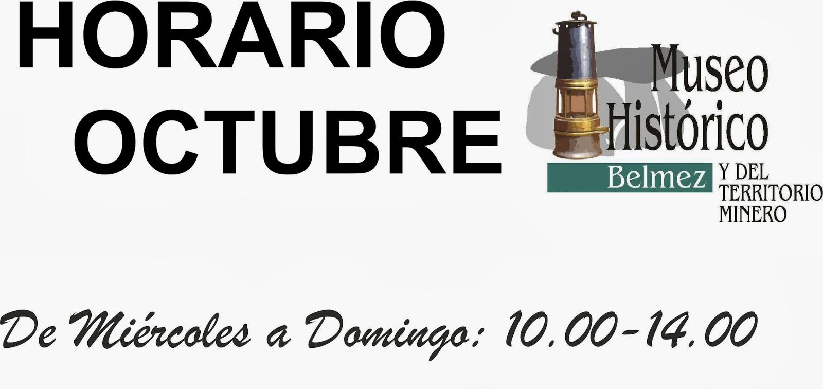 Ayuntamiento de belmez horario del museo mes de octubre for Horario oficinas caja rural