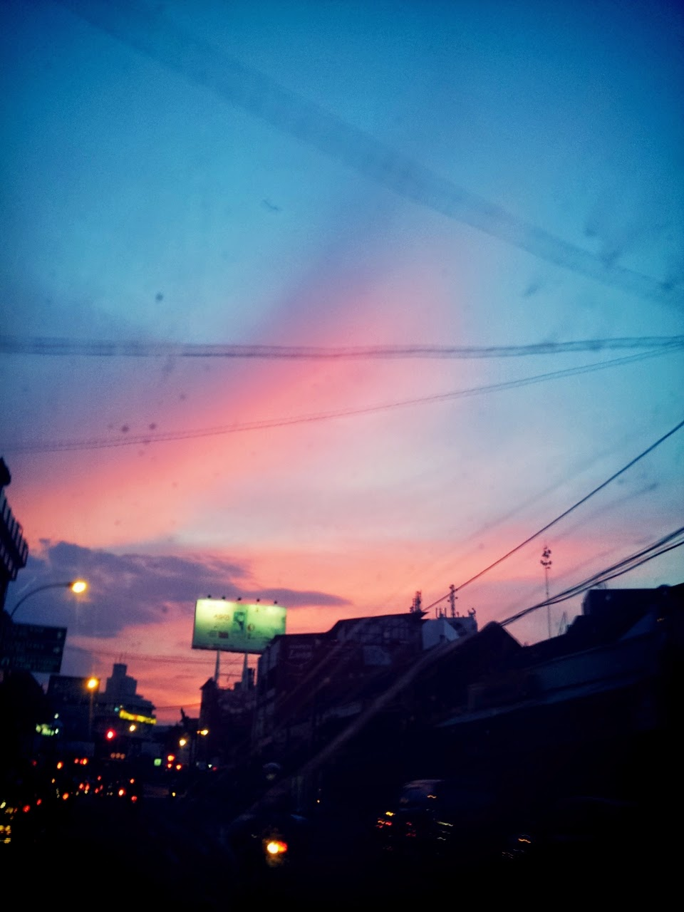 Cotton Candy Sky in BANDUNG