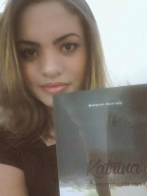 """[Entrevista] Bárbara Martins, autora do livro """"Katrina"""""""