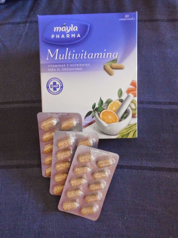 MULTIVITAMINAS MÁYLA PHARMA