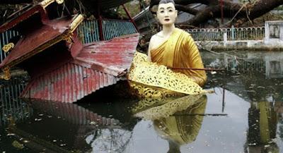 Dilanda Banjir dan Longsor, Myanmar Minta Tolong Pada Dunia