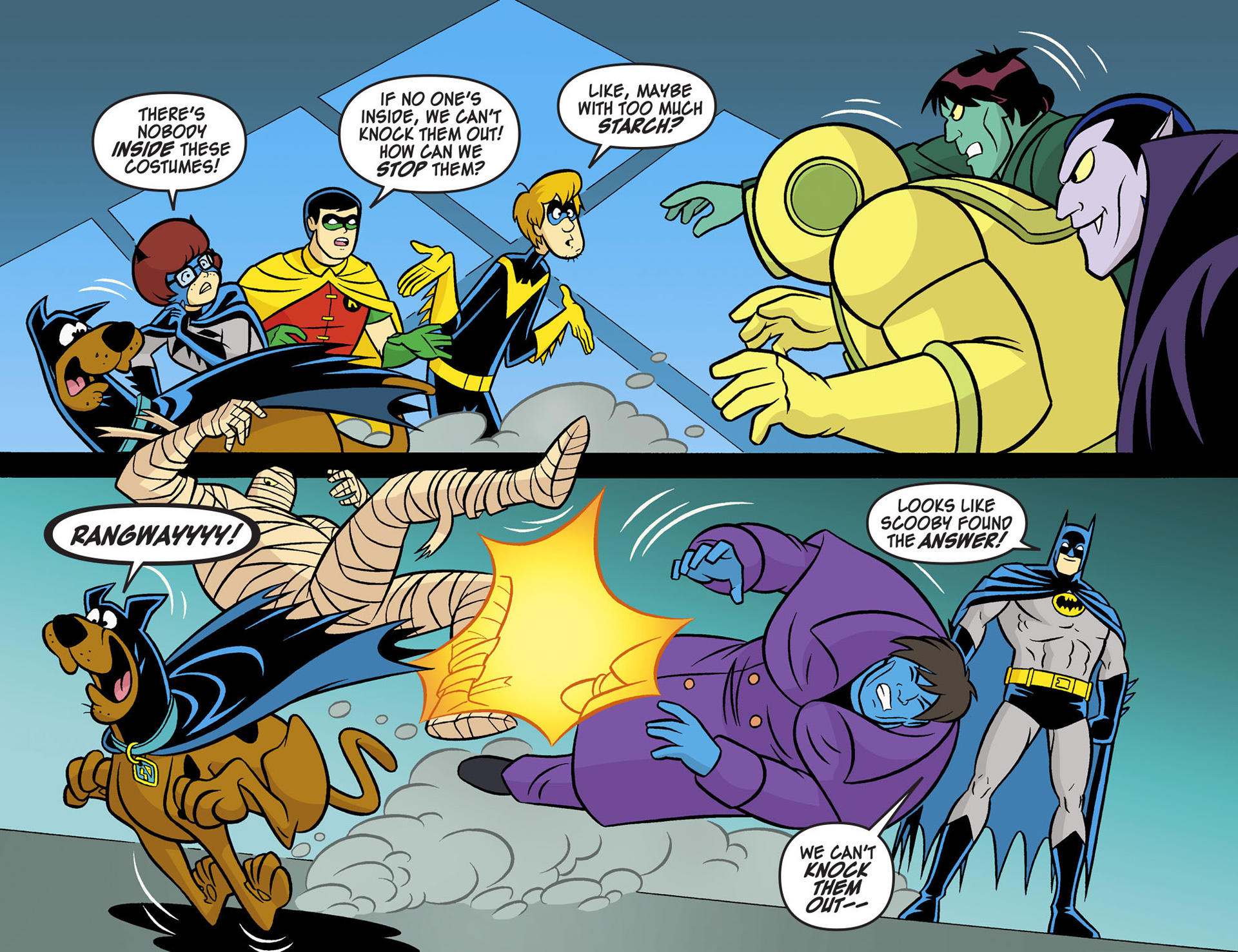 Read online Scooby-Doo! Team-Up comic -  Issue #5 - 19