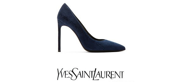 Princess Victoria's SAINT LAURENT Suede Pumps