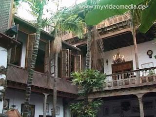Inner courtyard Casa de los Balcones
