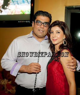 Salman Iqbal wife Sonia Khan