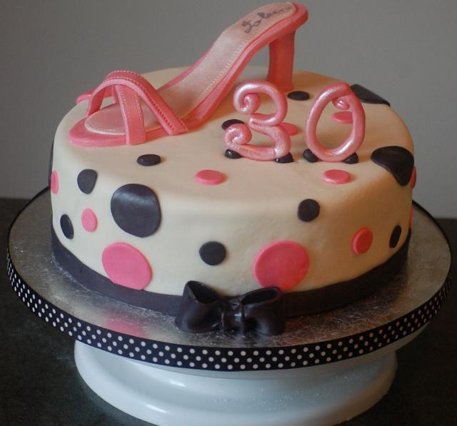 Birthday Cake Ideas And Pictures : Special Day Cakes: Creative Ideas for 30th Birthday Cakes