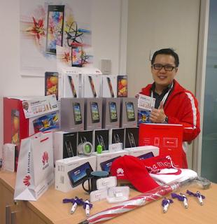 Huawei Device Malaysia akan berada di Tasik Titiwangsa