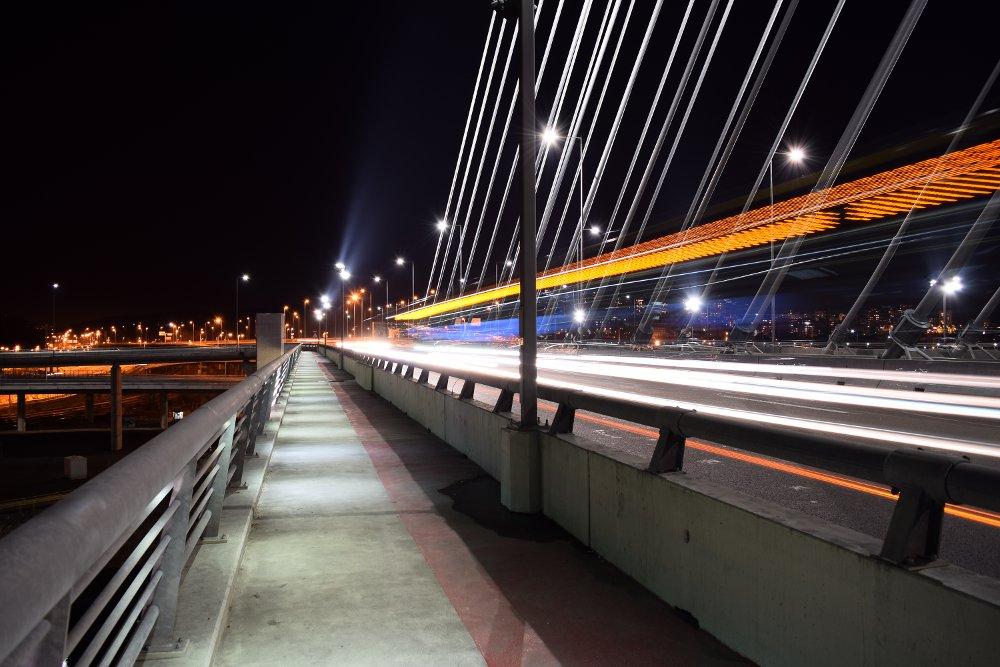 Deo za pešake - most na Adi