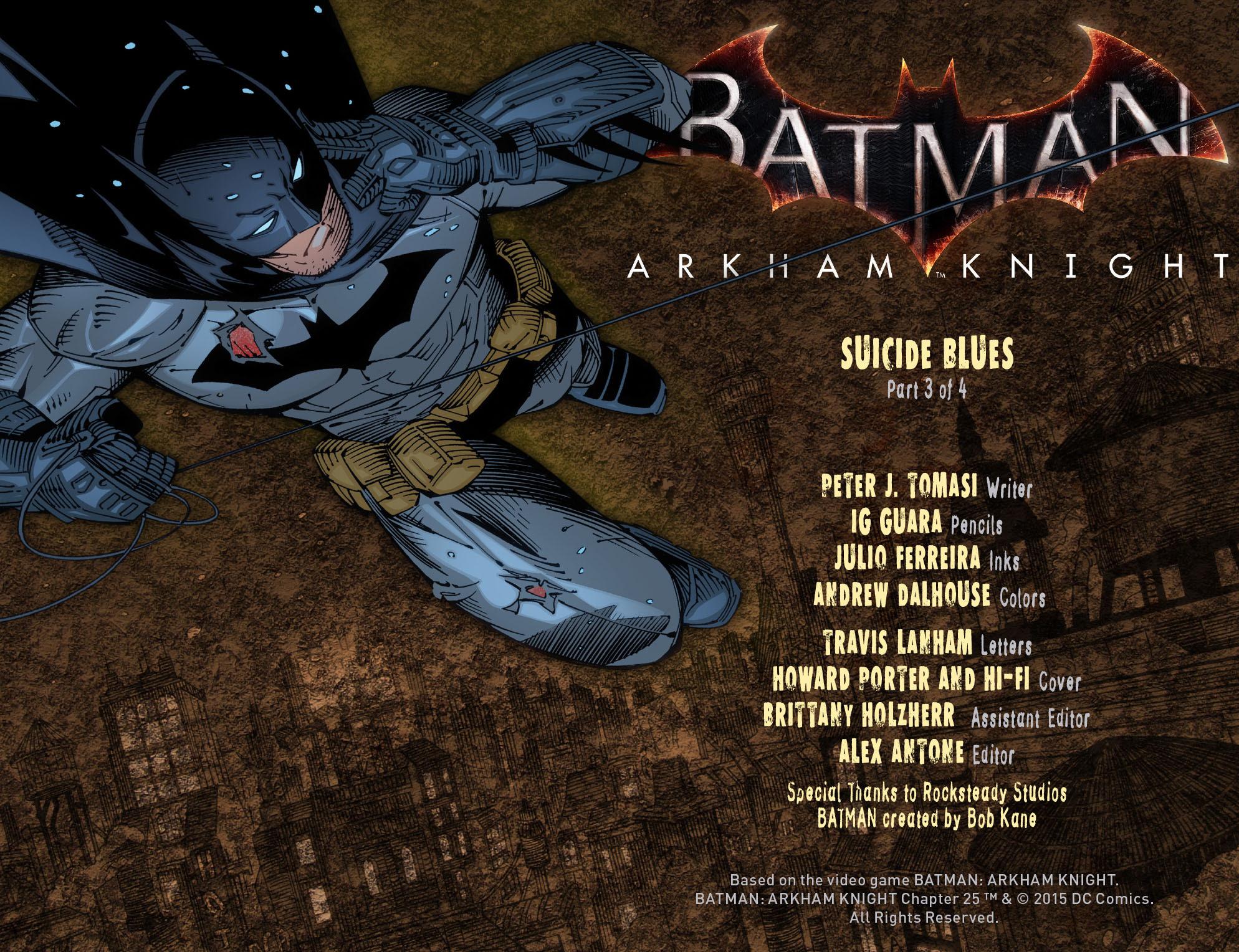 Batman: Arkham Knight [I] Issue #25 #27 - English 2