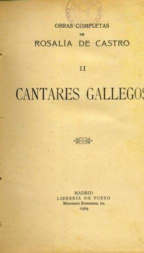 1909 CANTARES GALLEGOS