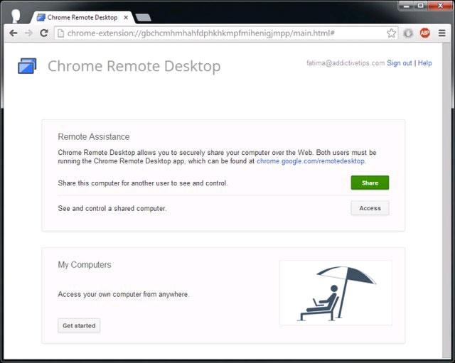 [Android tips] - Hướng dẫn sử dụng ứng dụng Chrome Remote Desktop trên điện thoại Android 2