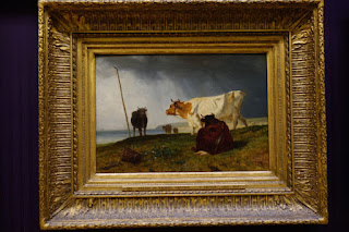 Wallace Collection London Cattle Painting by C. Troyon