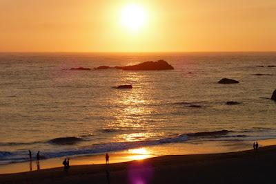 Oregon, Coast, Pacific Ocean, Sundown, Dusk, Summer, Travel, Lumix ZS-25
