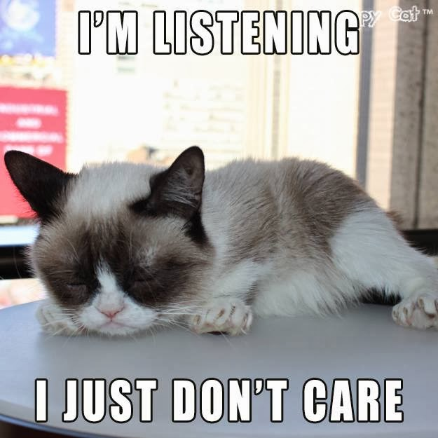 DIY Vintage Chic: Top Ten Tuesday ~ Grumpy Cat ~ No. 50 Work Party Meme
