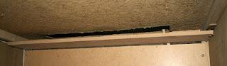Guard shelf fitted