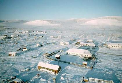 Oymyakon, Russia, Tempat Yang Dingin Di Bumi