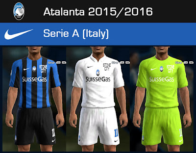 PES 2013 Atalanta BC 2015/2016 GDB update 1 by Dark Shimy