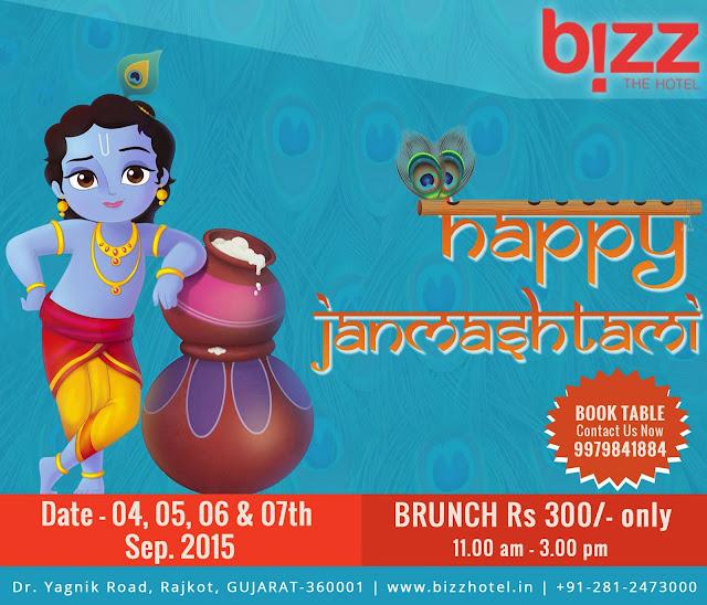 Janmasthami Special at Bizz Hotel Rajkot