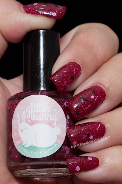 Glitter Bunny Polish GummyBerry