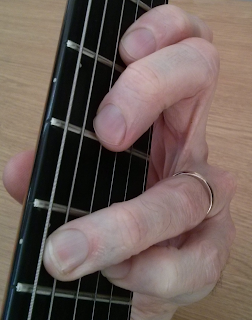 Eminor add9 guitar chord