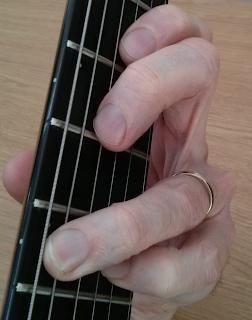 Eminor add9 guitar chord