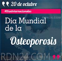 Día Mundial de la Osteoporosis #DíasInternacionales
