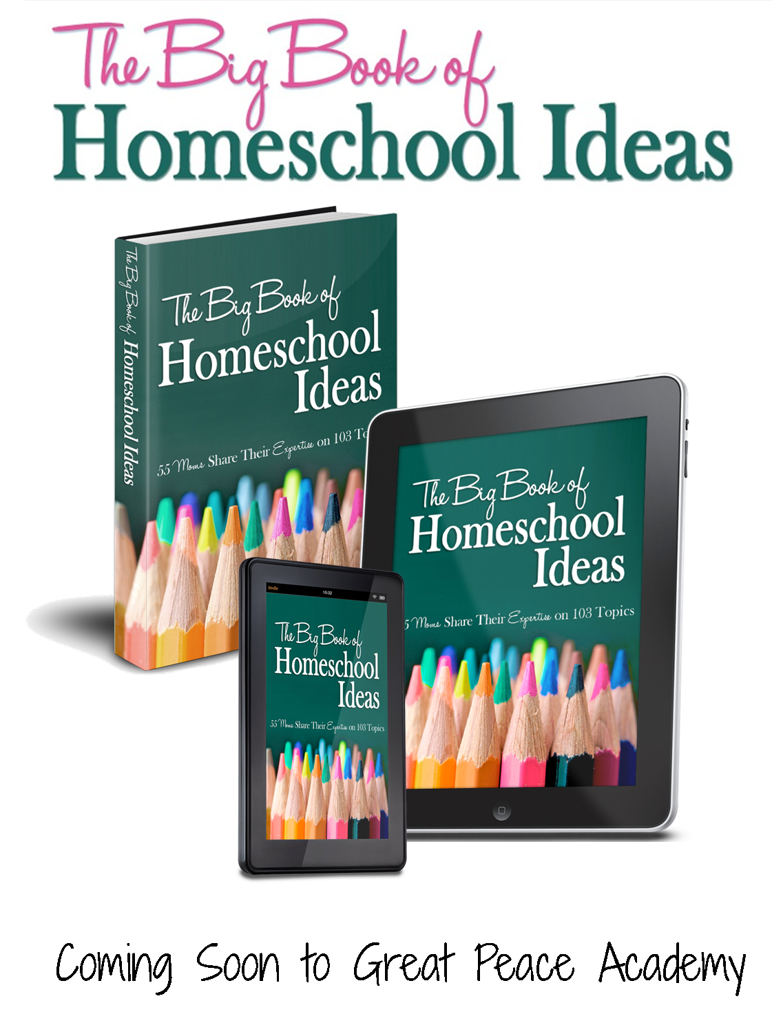 The Big Book of Homeshcool Ideas. Find it at Great Peace Academy