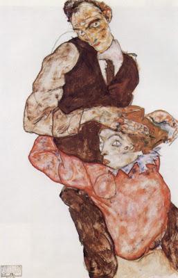 Femme à genoux devant un homme