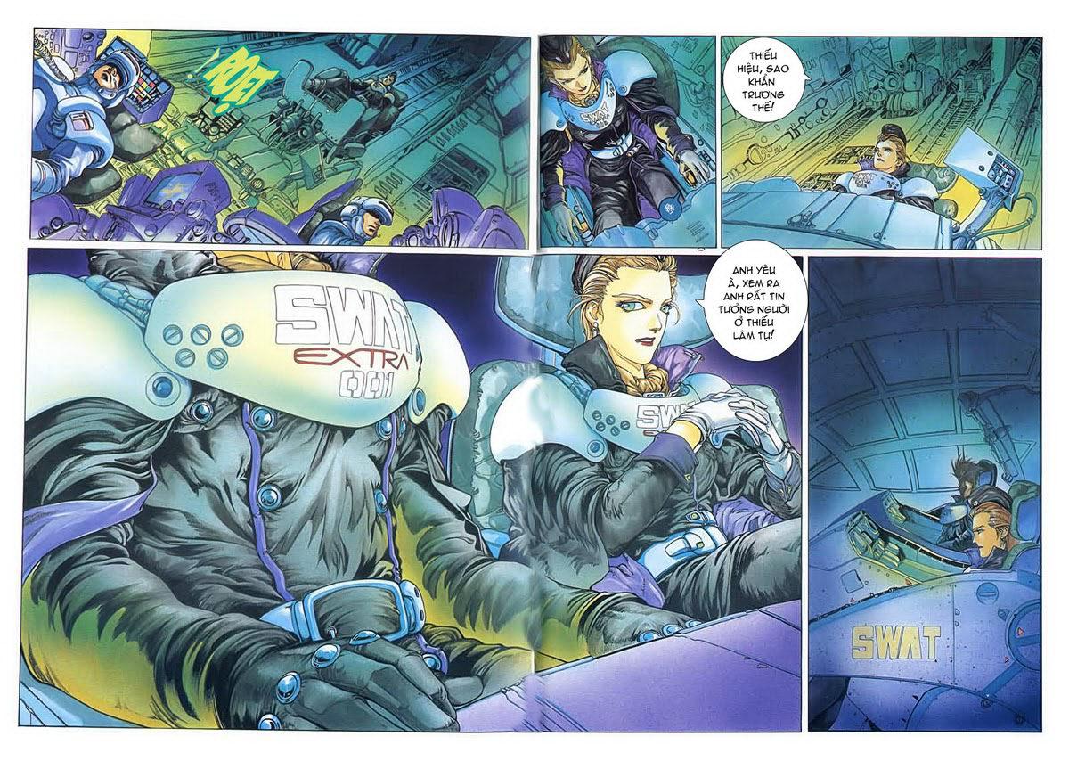 Cyber Weapon Z - Siêu Thần Z chap 4 - Trang 17