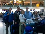Heathrow Airport. Finally all arrived at Heathrow, now ready to checkin. (heathrow airport)