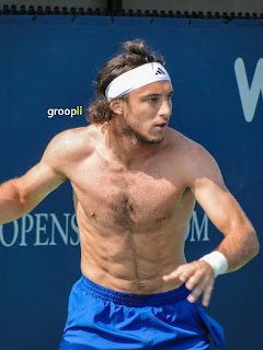 Juan Monaco Shirtless at Cincinnati Open 2011