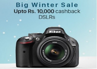 Paytm :2 Hours Deal on Camera & Camera Accessories | Flat 50% Cashback: BuyToEarn