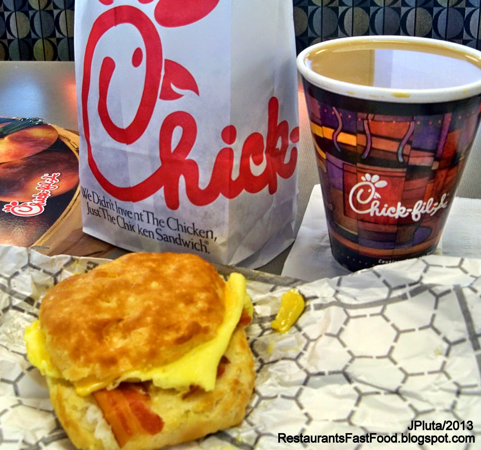 Chick Fil A Breakfast Fast Food Chicken Sandwich Restaurant